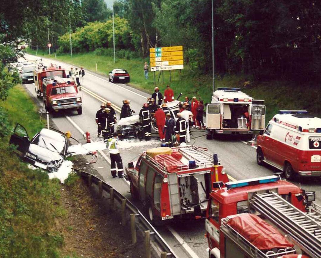 ulykke e18 i dag